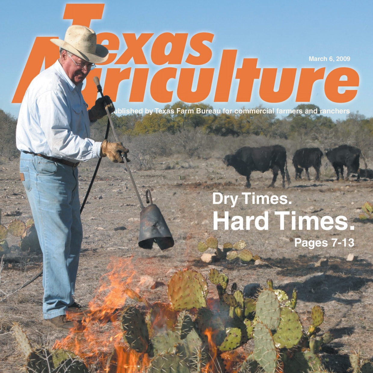 Cover Texas Agriculture, March 6, 2009